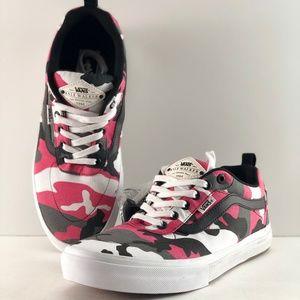 Vans Kyle Walker Pro Black & Magenta Camo Shoes